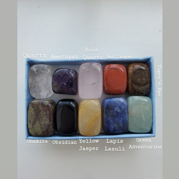 n/a Other - 10 pc crystal set!
